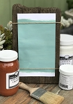 All Natural Artisanal Milk Paint (Casein) Alcazar Turquoise
