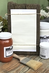 All Natural Artisanal Milk Paint (Casein) Chalk White