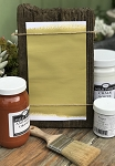 All Natural Artisanal Milk Paint (Casein) Loden Green Gold