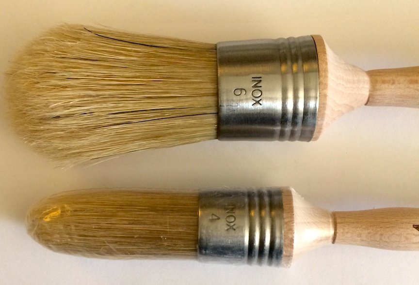 Escoda restore round domed decorative painting bristle brush for Faux painting brushes