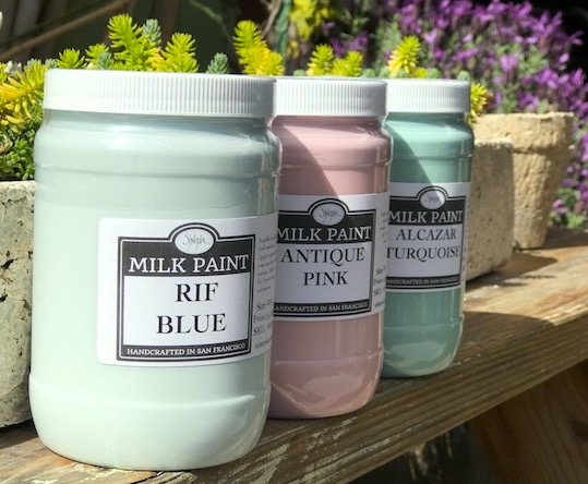 The only All Natural Milk Paint that is ready to use from