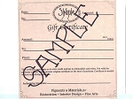 Gift Certificate - Starting at $25.00 and higher!