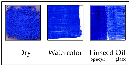 DCCR1 Ultramarine Blue, Dark, alkali proof