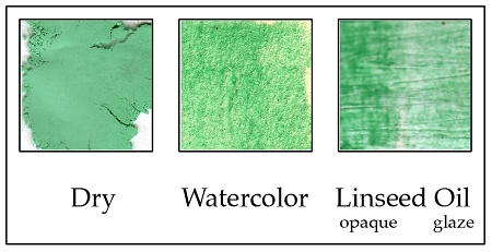 94960004 Genuine Malachite Green Pigment, fine 0-30 microns