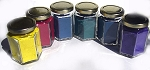 799MS Mayan Pigments Sampler Set in Glass Jars