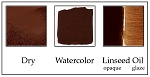 PC513BU Burnt Umber Brownish Warm Deep