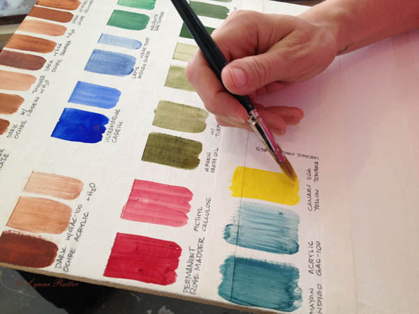Sign up for the Pigment and Paint Making Seminar