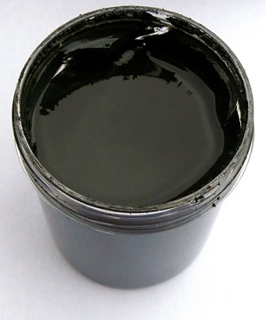 All Natural Artisanal Milk Paint (Casein) Charcoal Black
