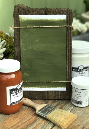 All Natural Artisanal Milk Paint (Casein) Alfama Green