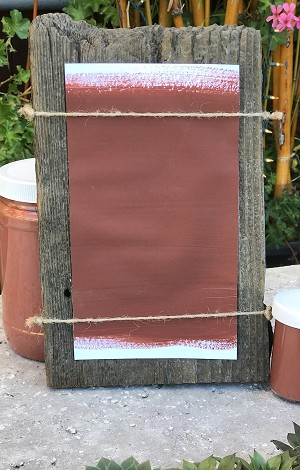 All Natural Artisanal Milk Paint (Casein) Falun Red