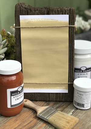 All Natural Artisanal Milk Paint (Casein) Hirsch Taupe