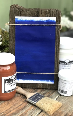 All Natural Artisanal Milk Paint (Casein) Marrakesh Azure