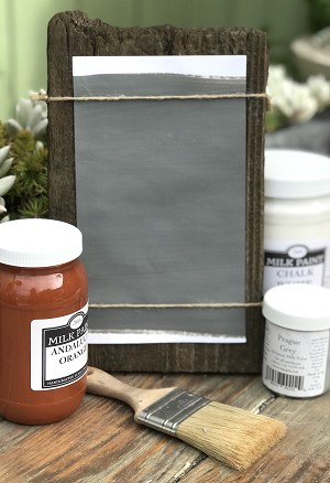 All Natural Artisanal Milk Paint (Casein) Payne's Grey