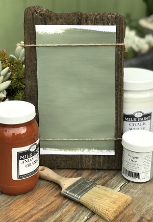 All Natural Artisanal Milk Paint (Casein) Verona Green