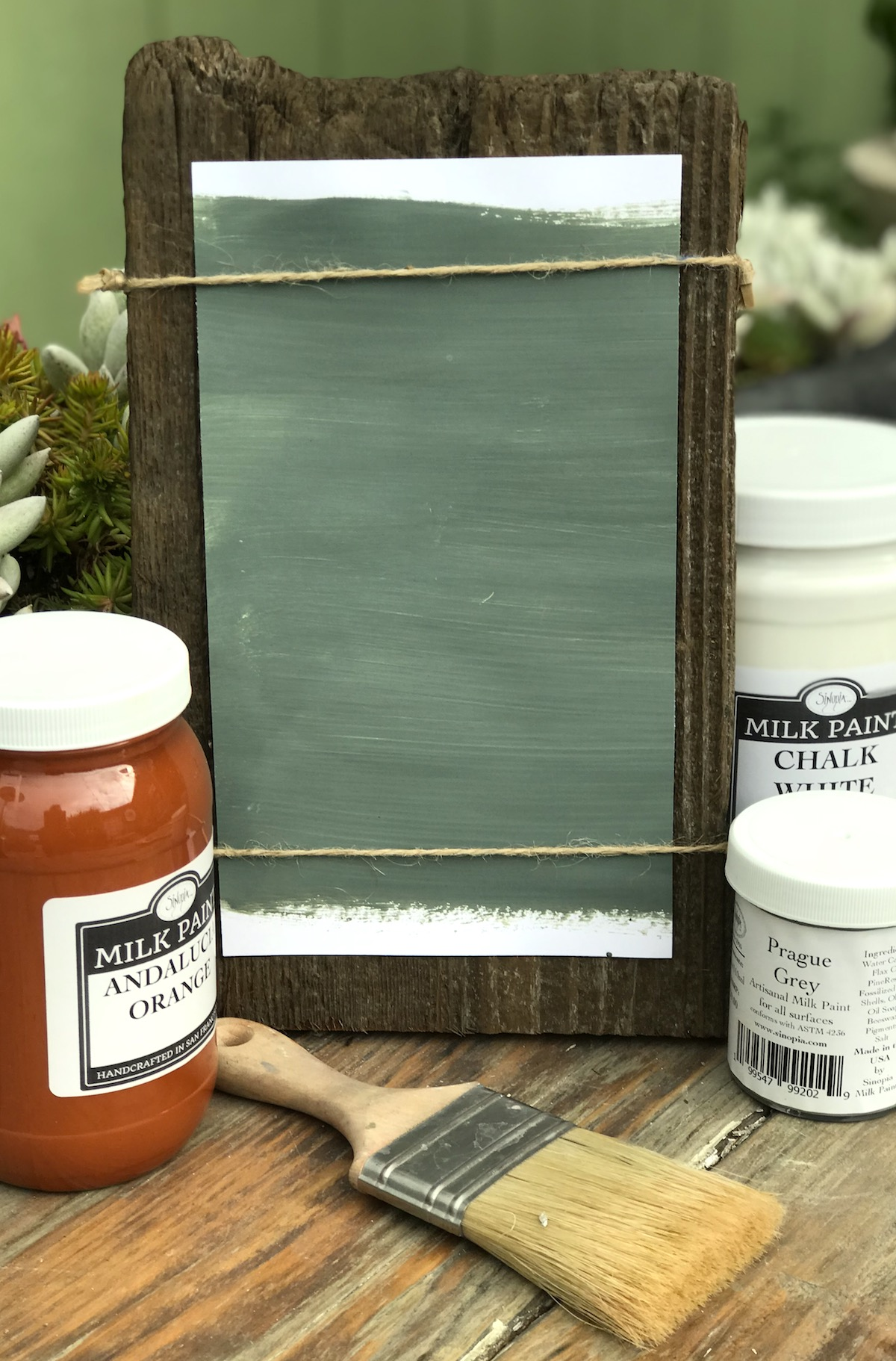 All Natural Artisanal Milk Paint (Casein) Bohemia Grey