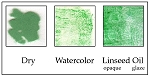 949600041 Genuine Malachite Green Pigment, coarse <50 microns