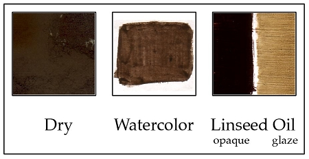 PC524BU Burnt Umber  very dark