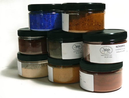 Basic Introductory Pigment Set in Plastic  Jars