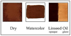 PC502BU Burnt Umber Reddish Brilliant